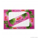 Lidding film 'Primeale Radis Rose', LDPE, transparent, 50µ, 37 x 57 cm, finishing: air holes