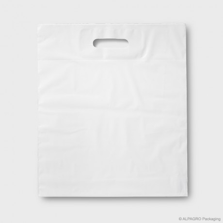 Patch handle carrier bag 'BLANCO'