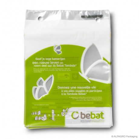 Blocked tear-off bags